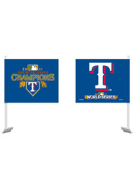 Texas Rangers ALC 2011 Car Flag - Blue