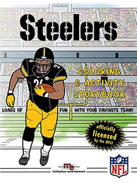 Pittsburgh Steelers Coloring Activity Activity Book