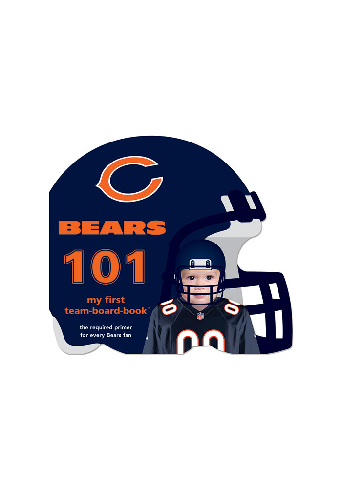 Chicago Bears 101: My First Text Children's Book - Image 1