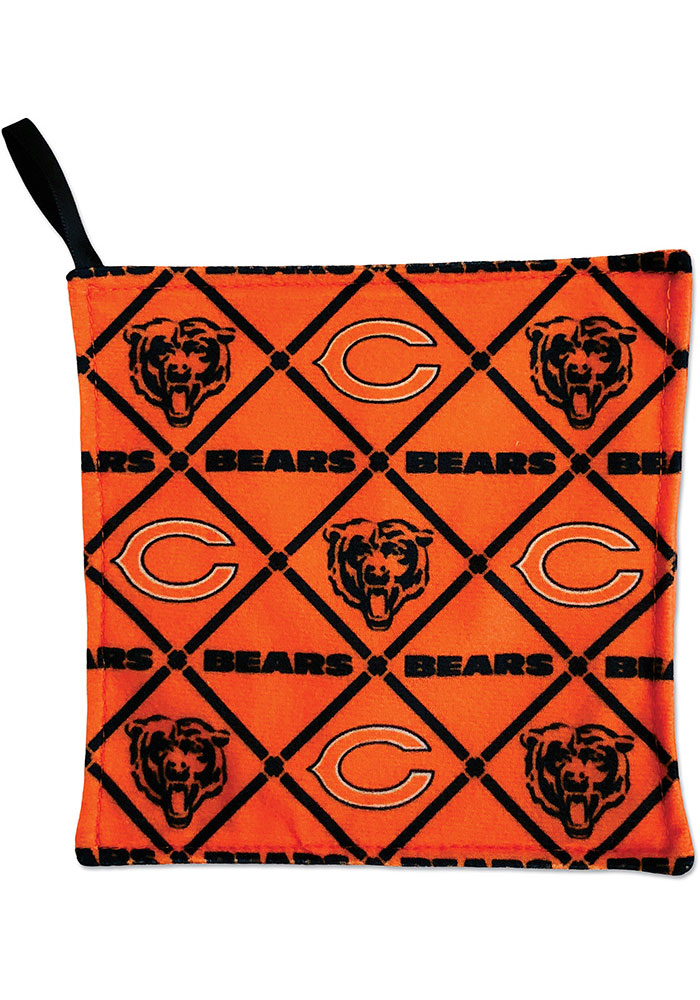Chicago Bears Rally Paper Baby Rattle - Image 1