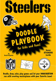 Pittsburgh Steelers Doodle Activity Book