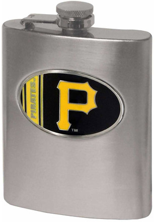 Pittsburgh Pirates 8oz Stainless Steel Flask