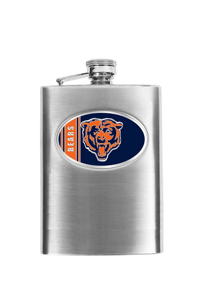 Chicago Bears 8oz Hip Flask - Image 1