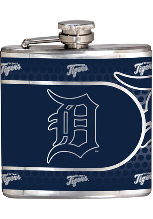 Detroit Tigers 6oz Stainless Steel Flask
