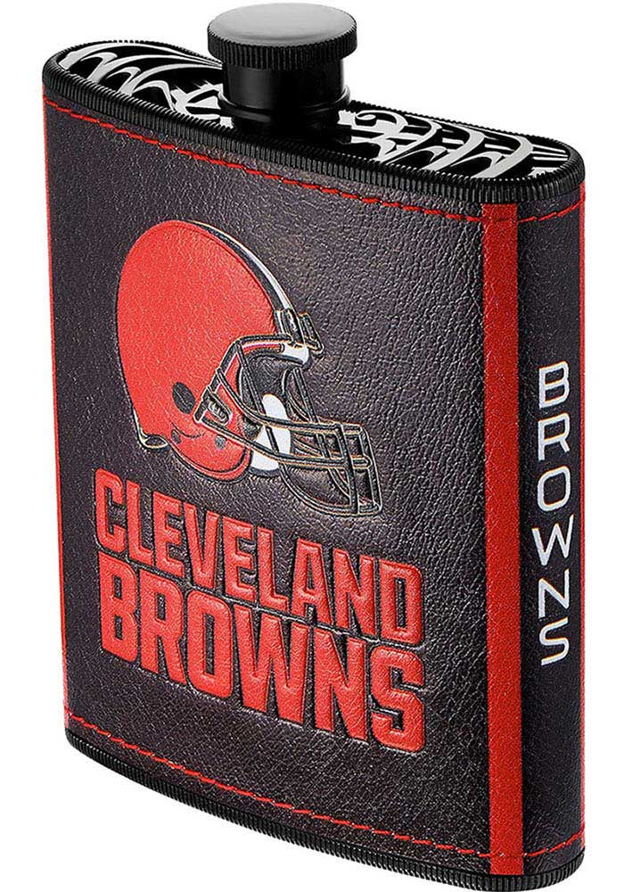 Cleveland Browns 7oz Plastic Flask - Image 1