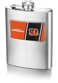 Cincinnati Bengals 8 OZ Steel Hip Flask