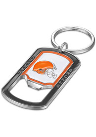 Cle Browns Stainless Steel Bottle Opener Keychain