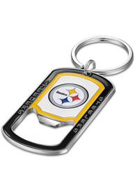 Pittsburgh Steelers Stainless Steel Bottle Opener Keychain