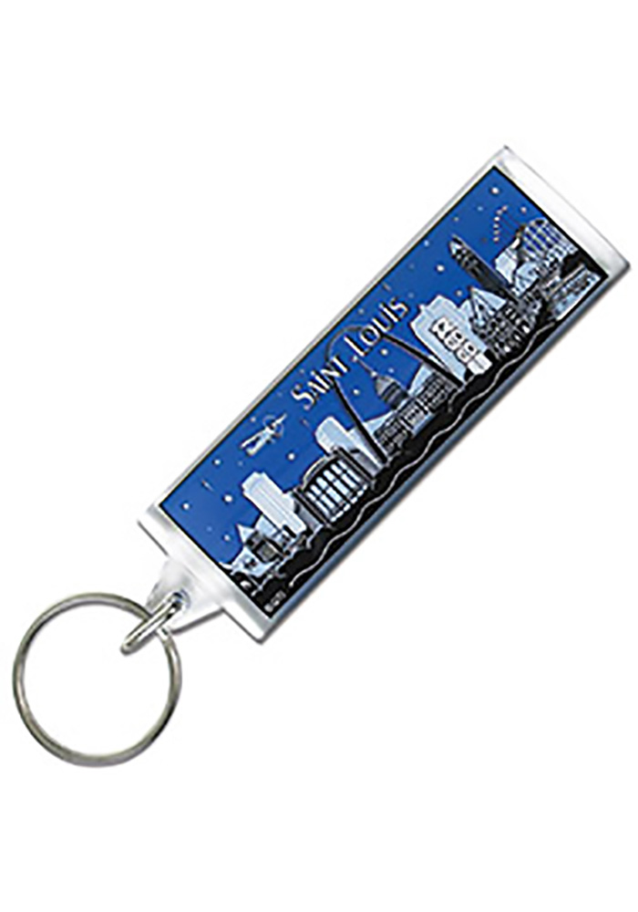 St Louis Starry Nights Keychain - Image 1