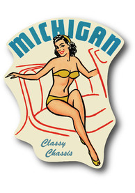 Michigan Classy Chassis Stickers