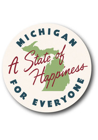 Michigan Happiness Stickers