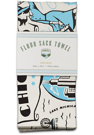 Chicago Flour Sack Towel