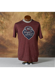 Peninsulas Detroit Maroon Bewing Company Short Sleeve T Shirt