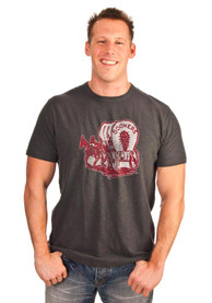 47 Oklahoma Sooners Charcoal Wagon Scrum Fashion Tee