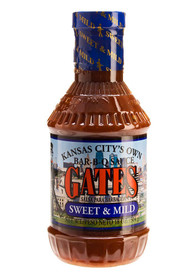 Gates 18oz Sweet and Mild BBQ Sauce