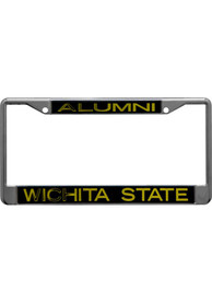 Wichita State Shockers Silver Metal License Frame
