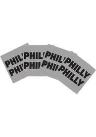 Philadelphia Philly Philly 4x4 Wood Coaster