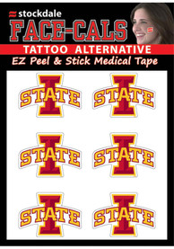 Iowa State Cyclones 6 Pack Tattoo