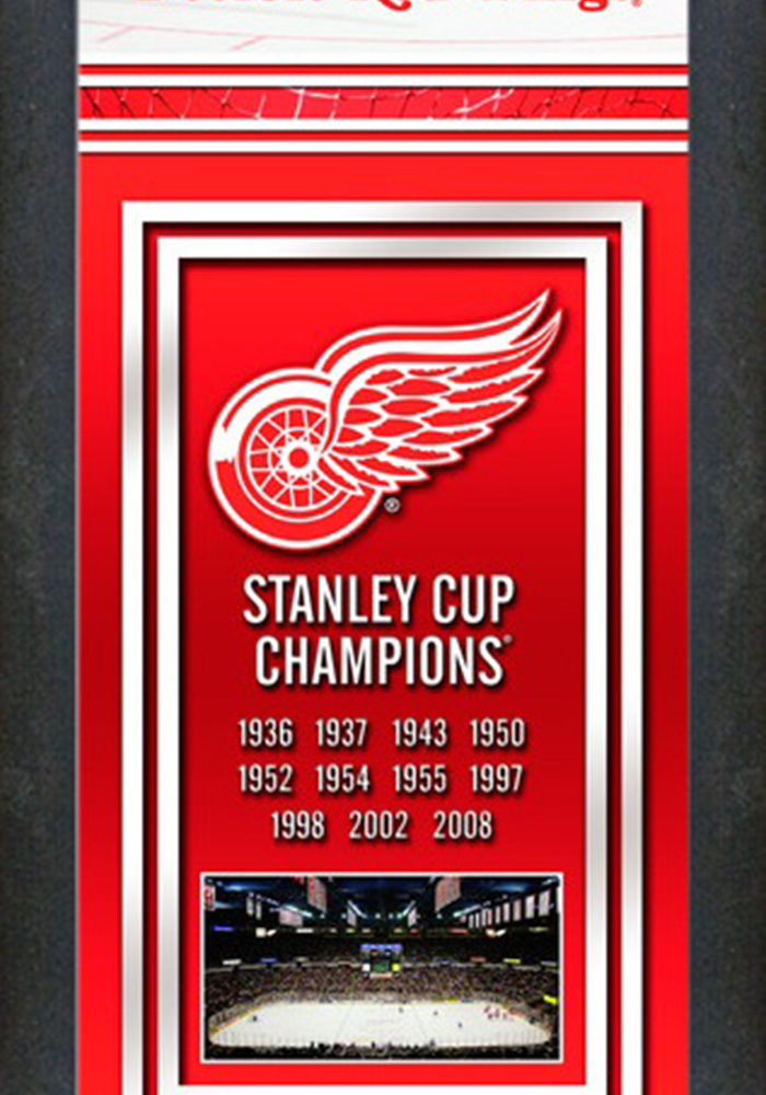 Detroit Red Wings Championship Banner Banner 7890000