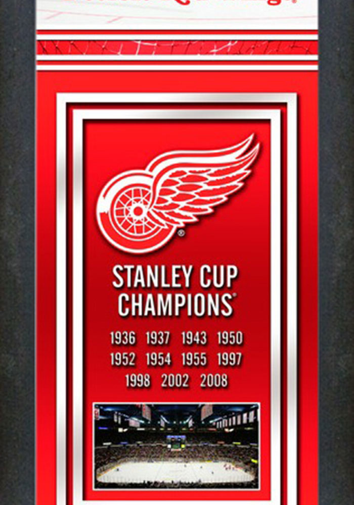Detroit Red Wings Championship Banner Banner - Image 2