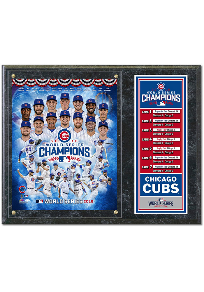 Chicago Cubs World Series Champs Players Framed Posters - Image 1