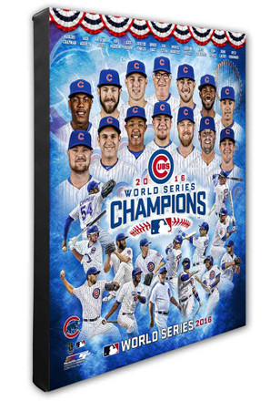 Chicago Cubs 16x20 canvas Framed Posters