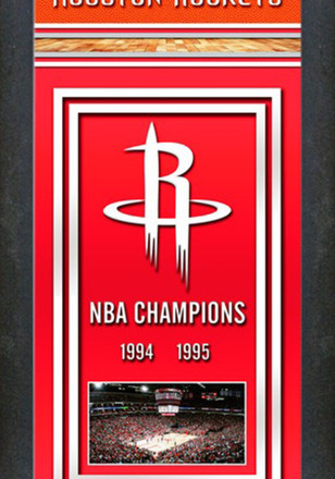 Houston Rockets Championship Banner Banner