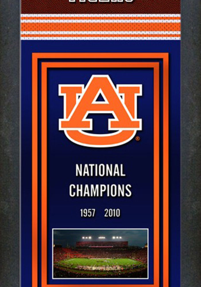 Auburn Tigers Championship Banner Banner - Image 1