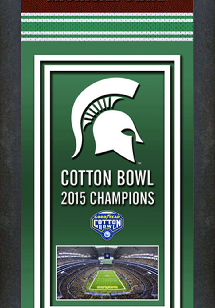 Michigan State Spartans Championship Banner Banner - Image 1