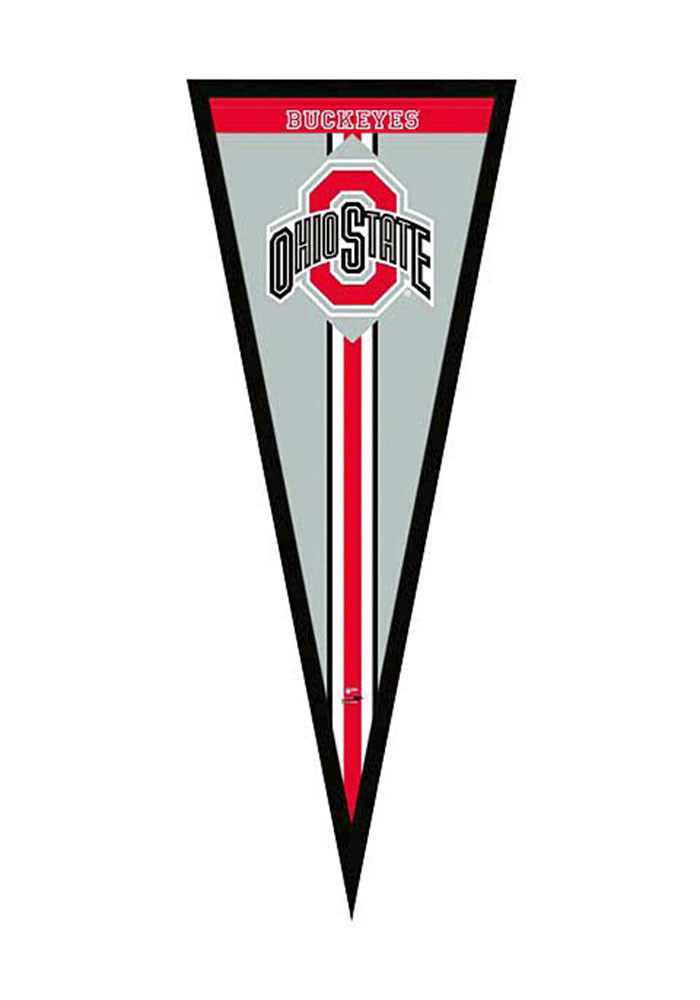 Ohio State Buckeyes Pennant Framed Posters - Image 1