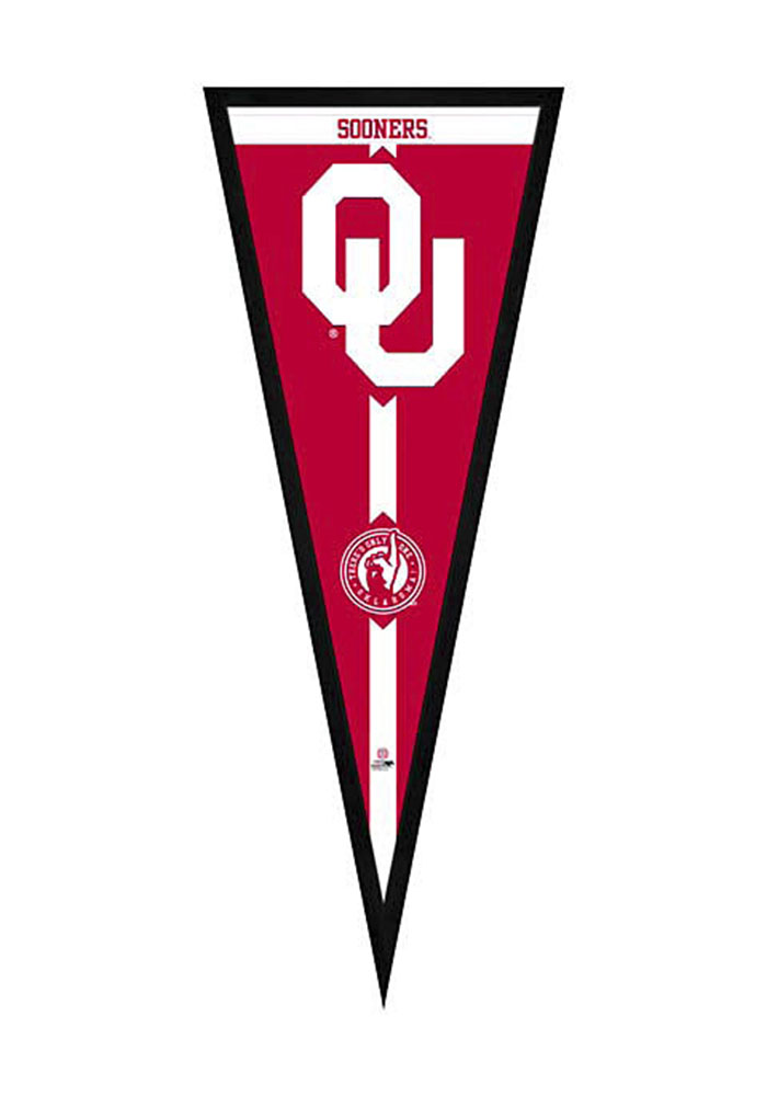 Oklahoma Sooners Pennant Framed Posters - Image 1