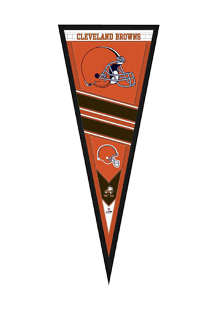 Cleveland Browns Pennant Framed Posters - Image 1
