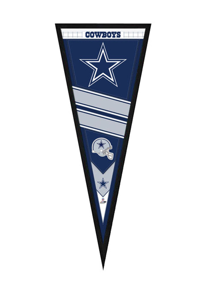 Dallas Cowboys Pennant Framed Posters - Image 1