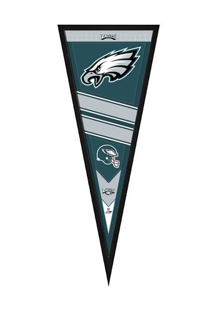 Philadelphia Eagles Pennant Framed Posters - 7890046