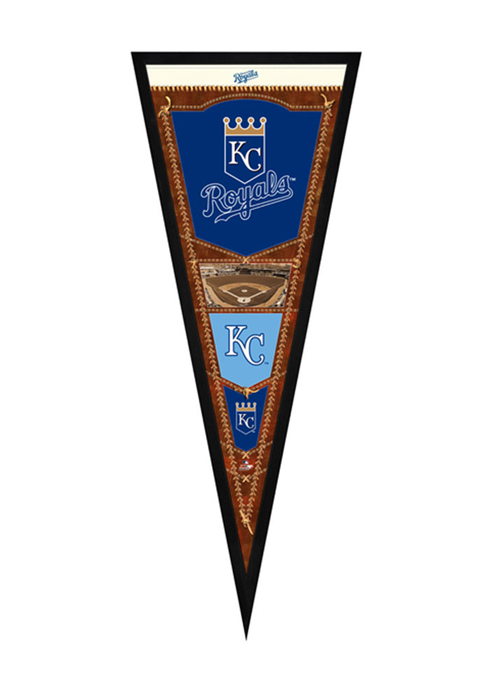 Kansas City Royals Pennant Framed Posters - Image 1