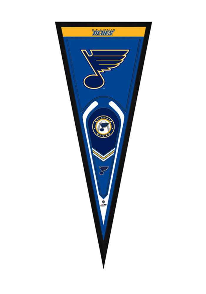 St. Louis Blues Pennant Framed Posters - Image 1