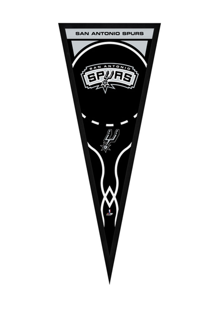 San Antonio Spurs Pennant Framed Posters - Image 1