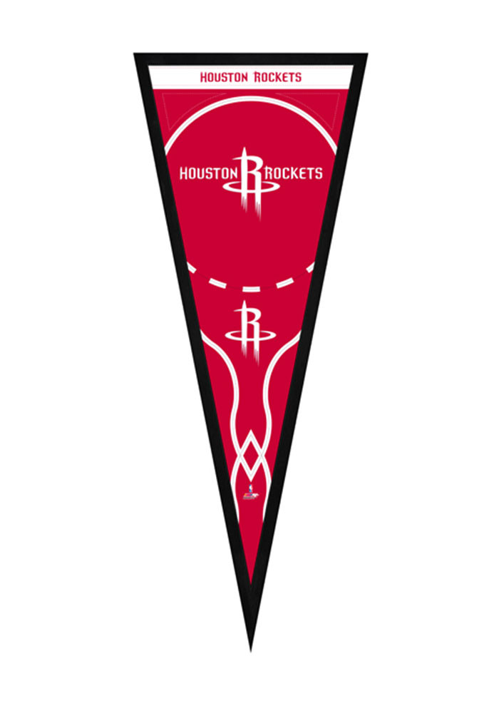 Houston Rockets Pennants Framed Posters - Image 1