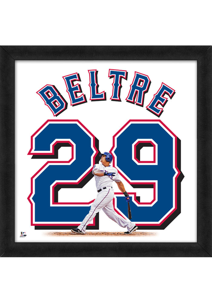 Adrian Beltre Texas Rangers 20x20 Uniframe Framed Posters - Image 1