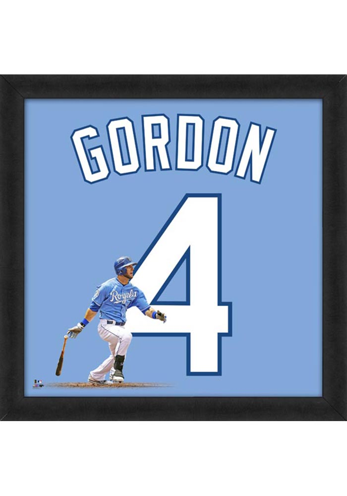 Alex Gordon Kansas City Royals 20x20 Uniframe Framed Posters - Image 1