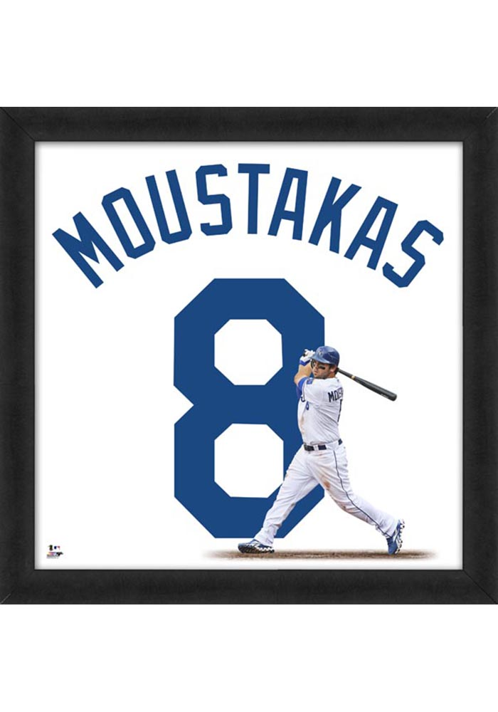 Mike Moustakas Kansas City Royals 20x20 Uniframe Framed Posters - Image 1