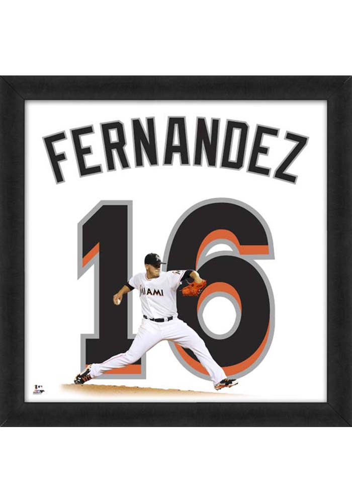 Miami Marlins 20x20 Uniframe Framed Posters - Image 1