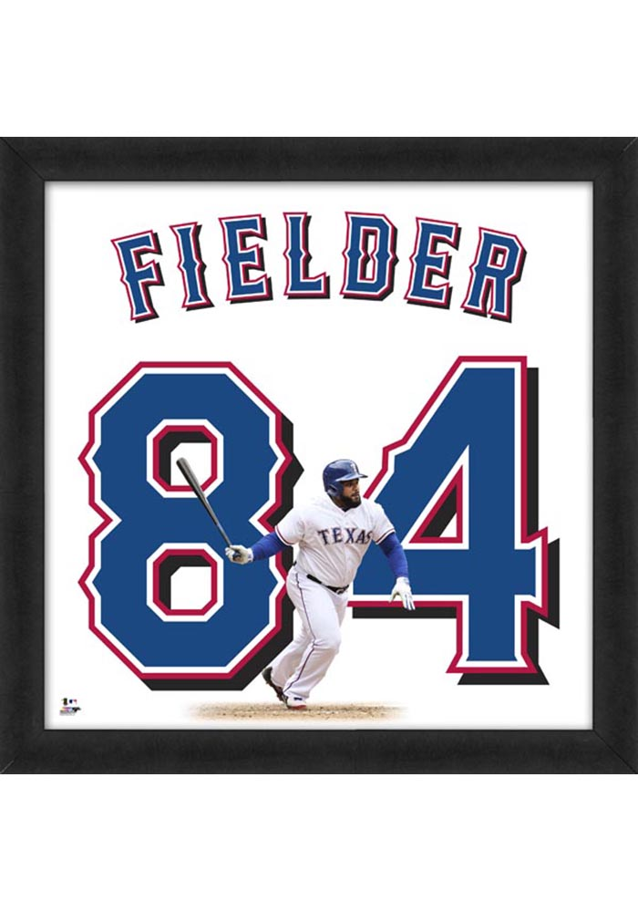 Prince Fielder Texas Rangers 20x20 Uniframe Framed Posters - Image 1