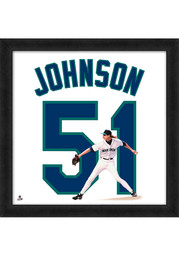 Randy Johnson Seattle Mariners 20x20 Uniframe Framed Posters