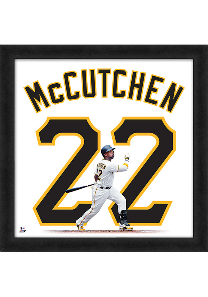 Andrew McCutchen Pittsburgh Pirates 20x20 Uniframe Framed Posters - Image 1
