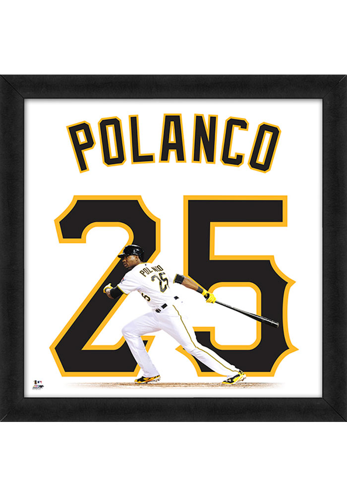 Gregory Polanco Pittsburgh Pirates 20x20 Uniframe Framed Posters - Image 1
