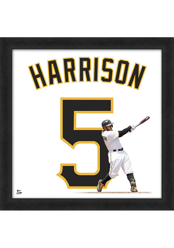 Josh Harrison Pittsburgh Pirates 20x20 Uniframe Framed Posters - Image 1