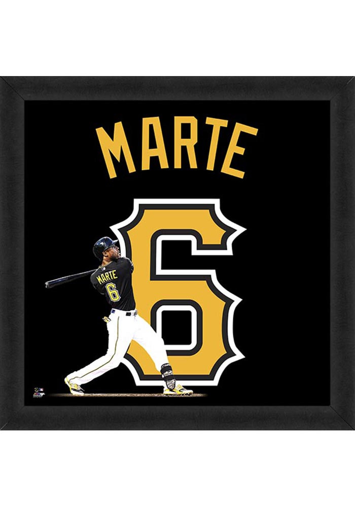 Starling Marte Pittsburgh Pirates 20x20 Uniframe Framed Posters - Image 1