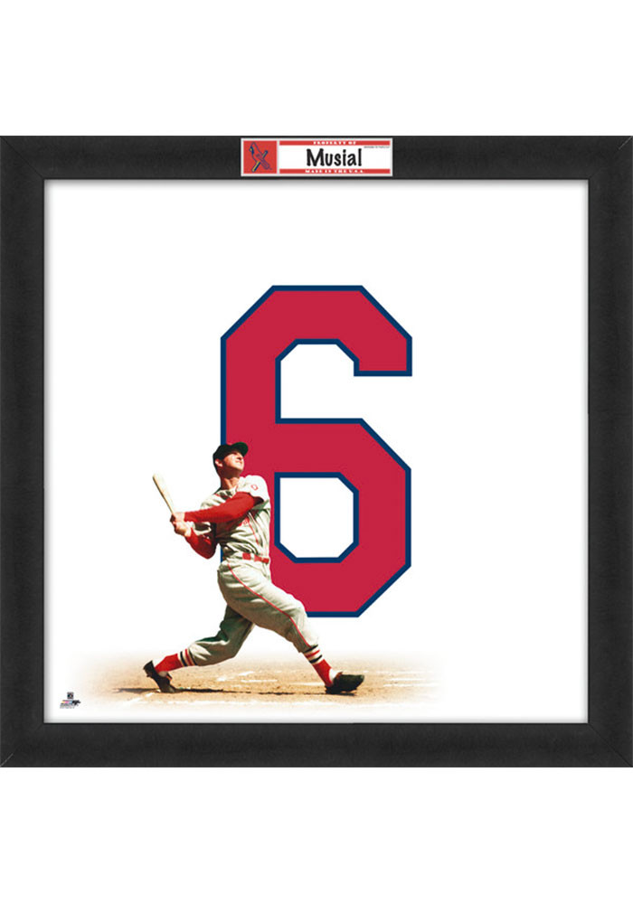 St Louis Cardinals 20x20 Uniframe Framed Posters - Image 1