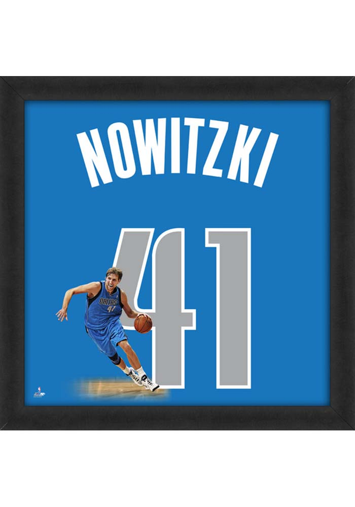 Dallas Mavericks 20x20 Uniframe Framed Posters - Image 1